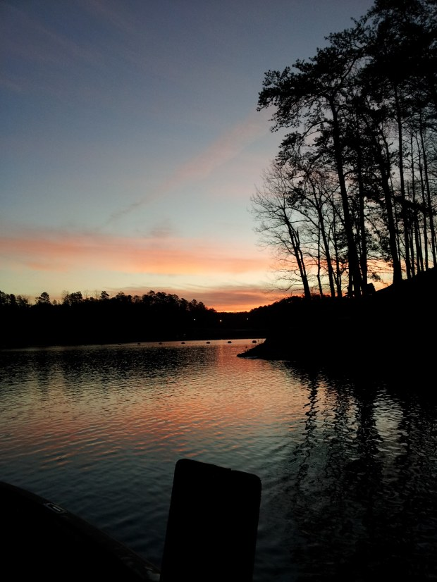 Evening on Tuscaloosa Lake