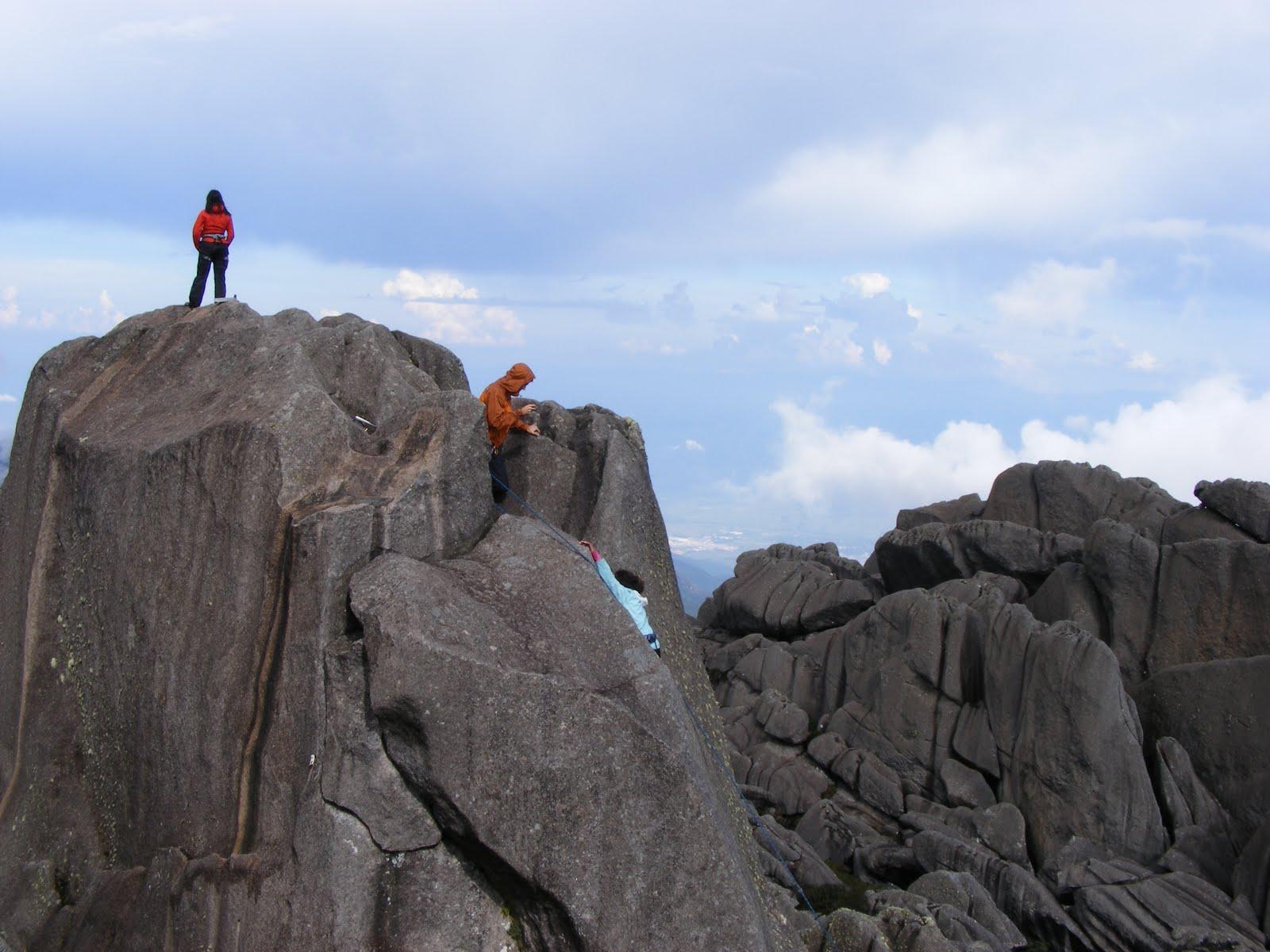 Climbing the Pico das Agulhas Negras in Itatiaia