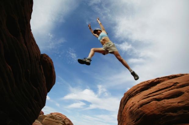 pulando Pico Agulhas Negras