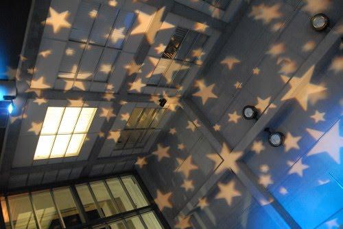 teto de estrelas
